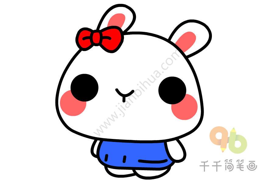 拉肚子动漫_儿童涂色画 兔子简笔画_陆地动物