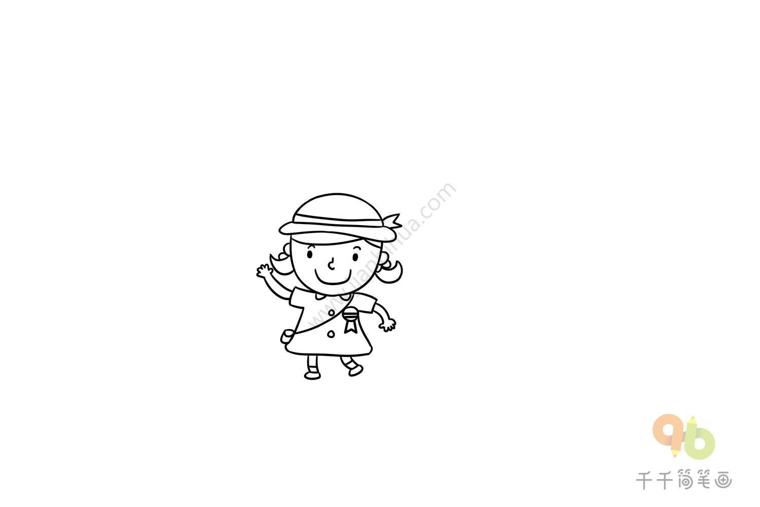 腊八节儿童简笔画