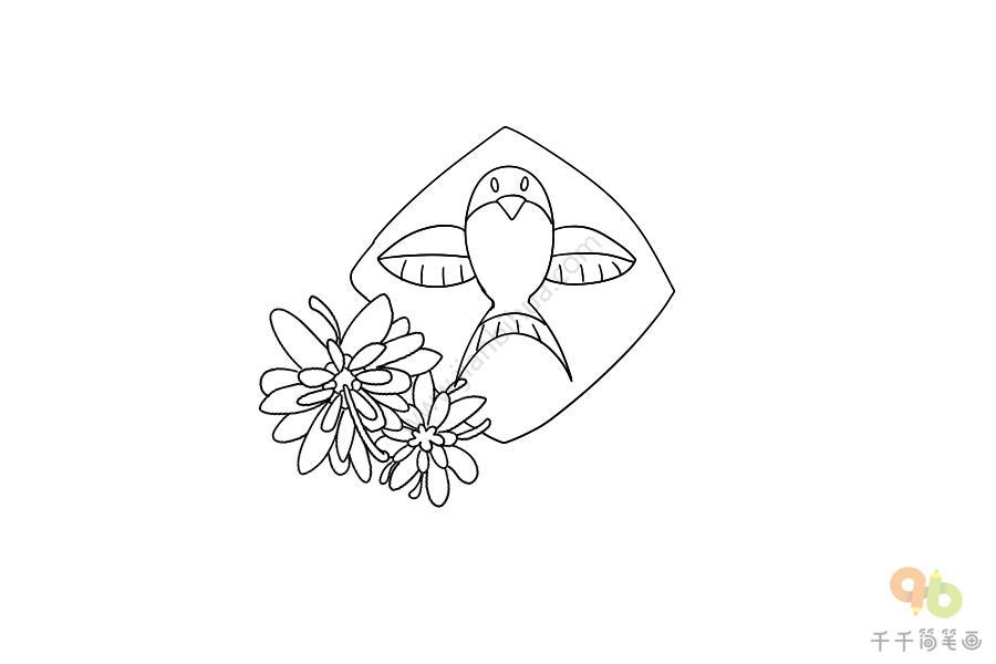 幼儿园关于重阳节的简笔画_重阳节简笔画图片_重阳节简笔画