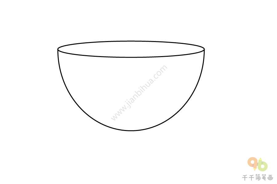 可爱的杯子简笔画步骤图