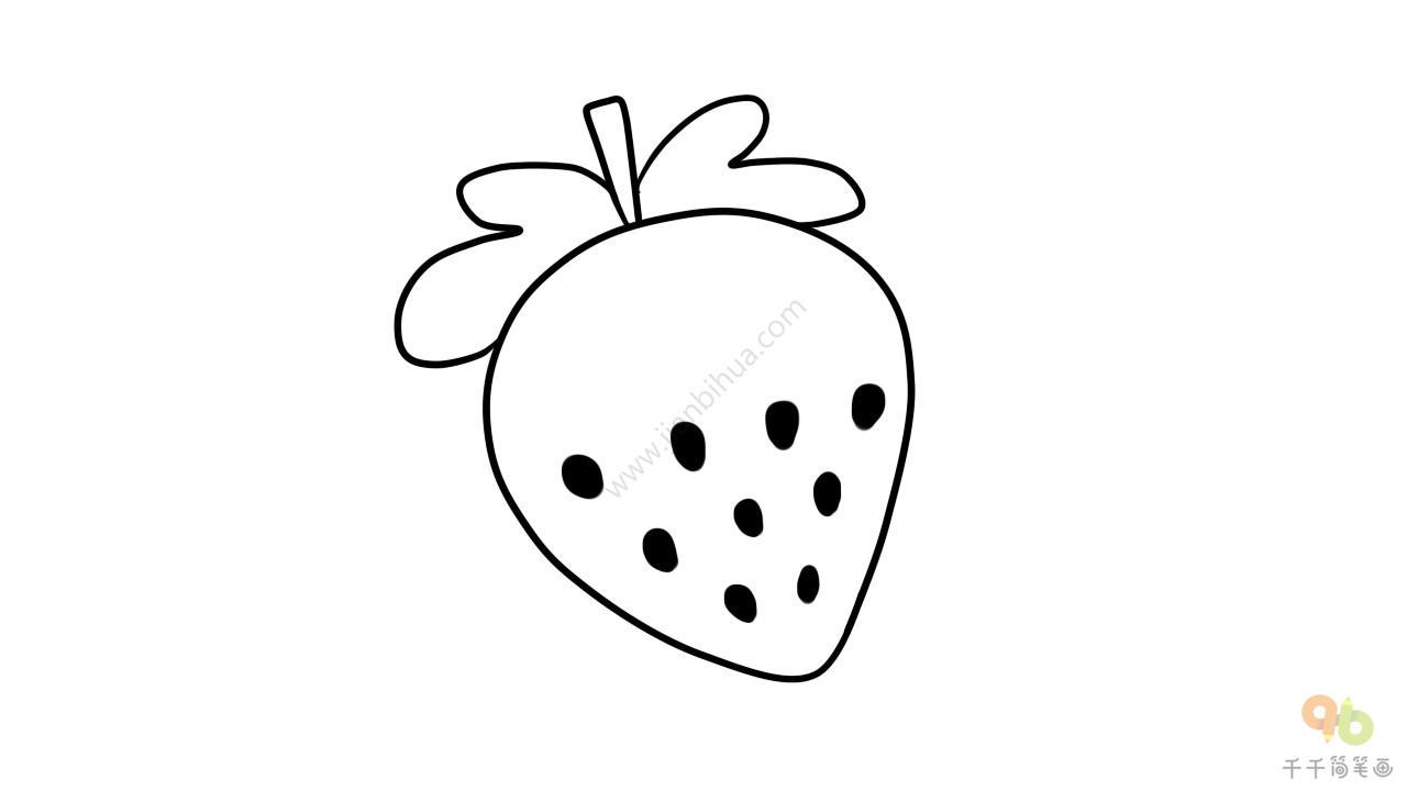 m249大菠萝简笔画