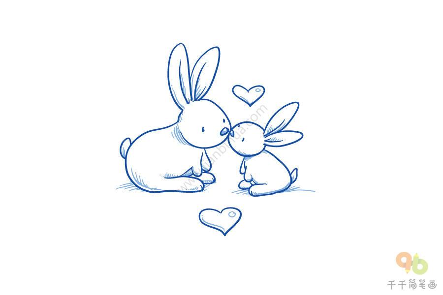 可爱的兔子简笔画大全   可爱的兔子简笔画大全   兔子简笔画,兔子简笔画大全,怎么画兔子简笔画,可爱的小兔子简笔画大全   可爱的兔子简笔画大全